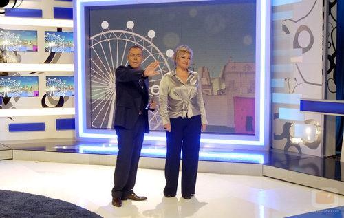 Jordi González y Gloria Serra