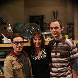 Sheldon, Leonard y Mary