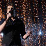 Mario Álvarez canta antes de ganar 'OT 2009'
