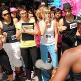 Participantes del Casting de 'Fama, ¡a bailar! 3' en Madrid