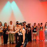 Bailarín en el casting de 'Fama 3'