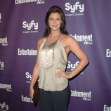 Sarah Lancaster durante la Comic Con 2009
