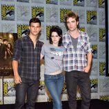 Taylor Lautner, Kristen Stewart y Robert Pattinson