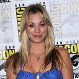 Kaley Cuoco en la Comic Con 2009