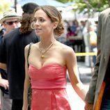 Eliza Dushku con un vestido veraniego en la Comic Con 2009