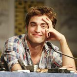 Robert Pattinson durante la Comic Con de 2009