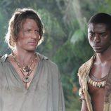 """Robinson Crusoe y """"Viernes"""""""