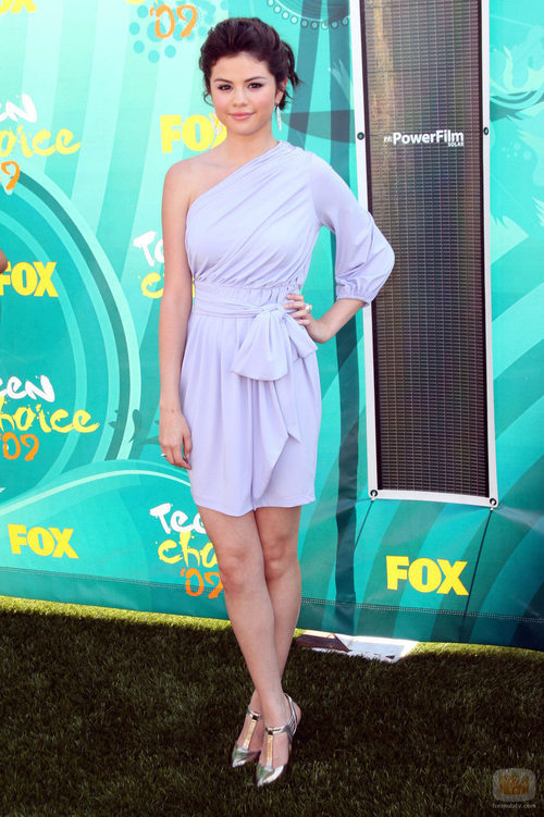 Selena Gomez durante los Teen Choice Awards 2009