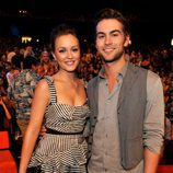 Leighton Meester y Chace Crawford