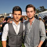 Taylor Lautner y Chace Crawford