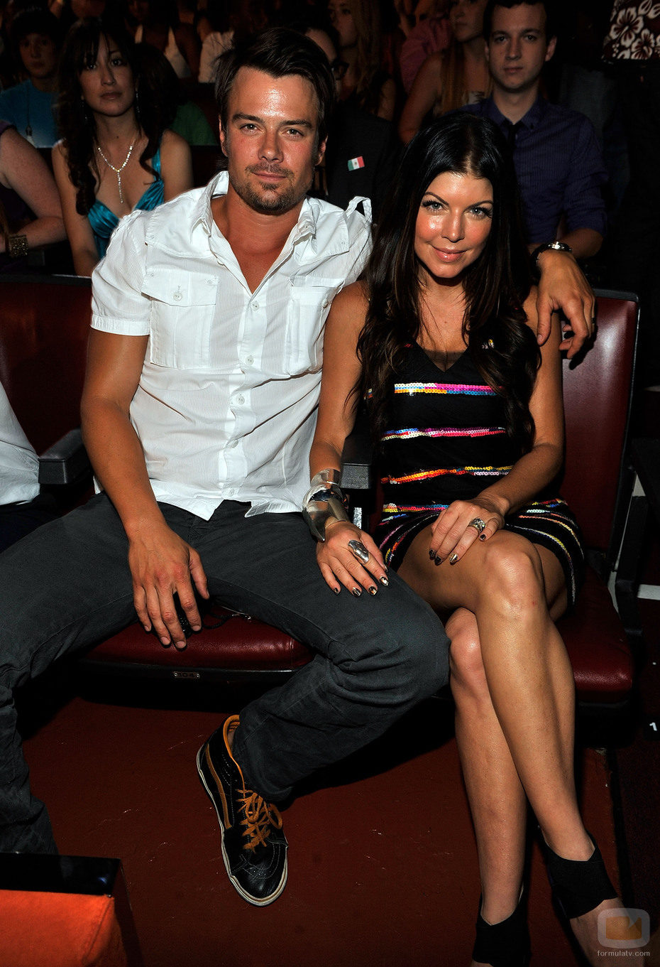 Josh Duhamel y Fergie en los Teen Choice Awards