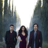 Los tres protagonistas de 'The Vampire Diaries'