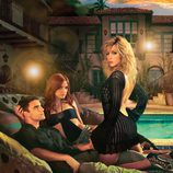 Colin Egglesfield, Katie Cassidy y Ashlee Simpson
