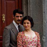 Nacho Fresneda y Bárbara Lennie