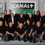 El equipo de Canal+ Liga