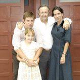 La familia del Asturiano en 'Amar en tiempos revueltos'