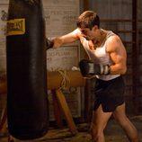 Alfonso García boxeando