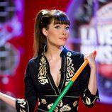 Pilar Rubio, con kimono negro, es la presentadora de 'La ventana indiscreta. Extremo Oriente'