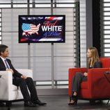 Calista Flockhart entrevista a Rob Lowe en 'Cinco hermanos'