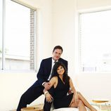 Tiffani Thiessen y Tim DeKay