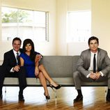 Tiffani Thiessen, Tim DeKay y Matt Bomer
