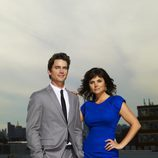 Tiffani Thiessen y Matt Bomer