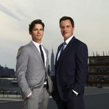 Matt Bomer y Tim DeKay de 'White Collar'