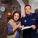 Rosario Pardo y Alex O'Dogherty en la segunda temporada de 'Doctor Mateo'