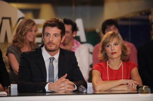 Miguel Barberá y Beatriz Segura en la presentación
