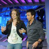 Olivia Wilde bailando en 'El hormiguero'