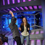 Olivia Wilde baila en 'El hormiguero'