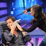 Olivia Wilde con Pablo Motos