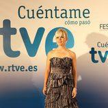 Lluvia Rojo en la première de 'Cuéntame'