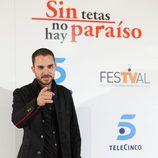 Manuel Cardona en la première de 'STNHP'