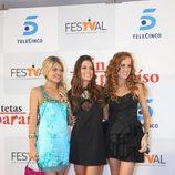 Thais Blume, Amaia Salamanca y María Castro
