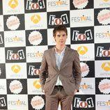 Óscar Sinela en la premiere de la cuarta temporada de 'Física o Química'