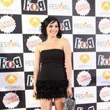 Andrea Duro en la première de la cuarta temporada de 'FoQ'