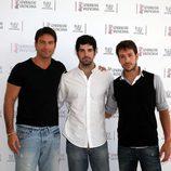 Rafael Amaya, Miguel Ángel Muñoz y Alejandro Albarracín