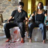 Aitor Luna y Natalia Sánchez en 'La ira'