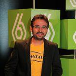 Jordi Évole, el Follonero, en la presentación de la temporada 2009-2010 de laSexta