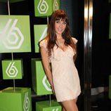 Pilar Rubio durante la presentación de la temporada 2009-2010 de laSexta