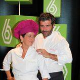 Eva Arguiñano y Bruno Oteiza