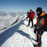 'Desafío extremo' en Los Alpes