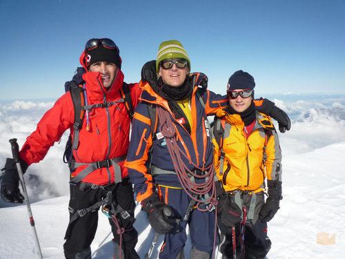 Héctor Barberá, Marc Coma y Dani Pedrosa