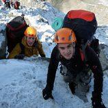 Dani Pedrosa subiendo el Mont Blanc