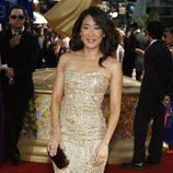 Sandra Oh de dorado en los Emmy 2009