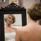 Blanca se prueba su vestido de novia
