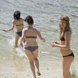 Ruth, Yoli y Paula en bikini