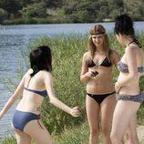 Paula, Ruth y Yoli en bikini