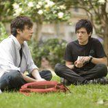 Javier Calvo y Adam Jezierski, actores de 'Física o química'